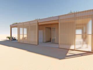 Chiringuito sostenible en Gandía, Valencia Arquitectura Sostenible e Interiorismo | a-nat Casas ecológicas