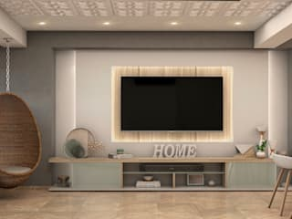 Gabriela Afonso Living roomTV stands & cabinets Wood White