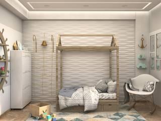 Gabriela Afonso Modern style bedroom White