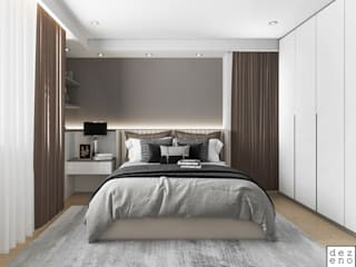 Dezeno Sdn Bhd Small bedroom Plywood Brown