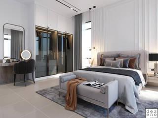 Dezeno Sdn Bhd Small bedroom Plywood Grey