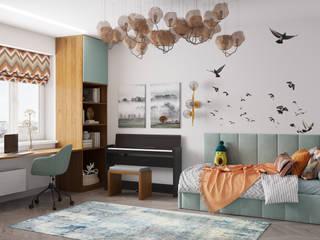 IvE-Interior Teen bedroom White