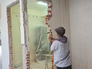 Remodelación, de bodegas a departamento. Modena Arquitectura, S.A. de C.V.