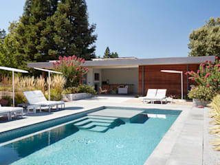Sonoma Pool House and Guest House Klopf Architecture Modern Pool