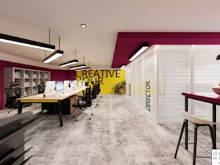Dezeno Sdn Bhd Offices & stores Wood Purple/Violet
