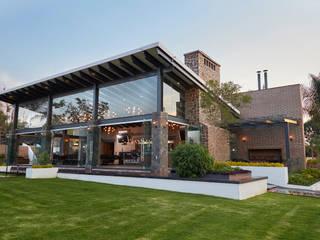 arketipo-taller de arquitectura Balcones y terrazas de estilo rural Piedra