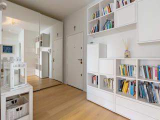 Yome - your tailored home Eclectic style corridor, hallway & stairs