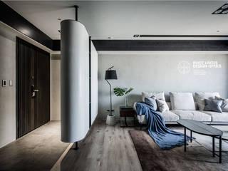掠光浮島 築本國際設計有限公司 客廳