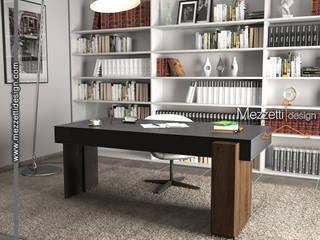 scrivania Mezzettidesign StudioScrivanie Legno Nero