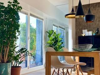 Skapetze Lichtmacher Mediterranean style dining room