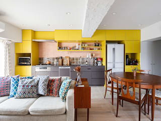 株式会社ブルースタジオ 置入式廚房 Yellow