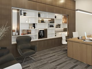 Dezeno Sdn Bhd Offices & stores Wood Brown