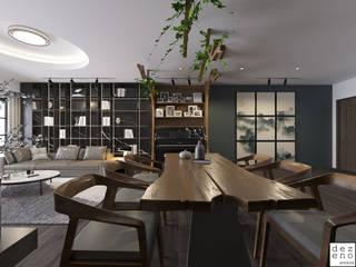 Dezeno Sdn Bhd Living room Wood Brown