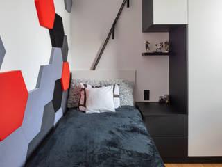 Katarzyna Wnęk Small bedroom Чорний