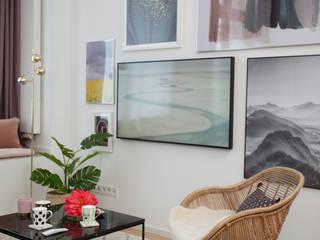 Adeline Labord Interiors Modern living room
