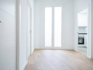 Grupo Inventia Living room Concrete White