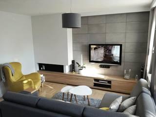 Luxum Modern living room Concrete Grey