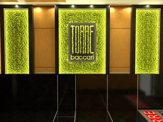 PROGETTAZIONE GRAFICA MONDOSTICKERS Ingresso, Corridoio & Scale in stile moderno