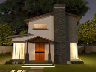 麥斯迪設計 Casas unifamiliares Pizarra Beige