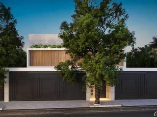 Camila Pimenta | Arquitetura + Interiores 現代房屋設計點子、靈感 & 圖片 木頭 Wood effect