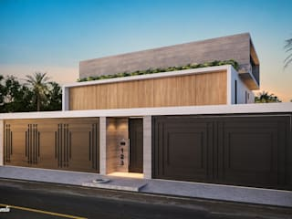 Camila Pimenta | Arquitetura + Interiores 獨棟房 木頭 Wood effect