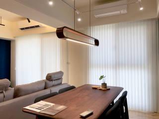 MSBT 幔室布緹 Phòng khách phong cách tối giản White
