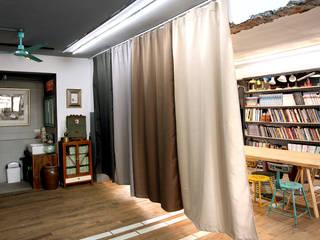 MSBT 幔室布緹 Phòng học/văn phòng phong cách công nghiệp Brown
