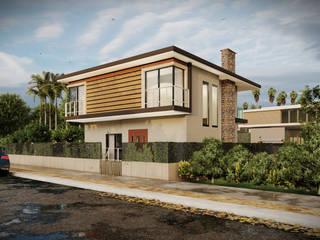 3d Architectural Villa Model Ahza