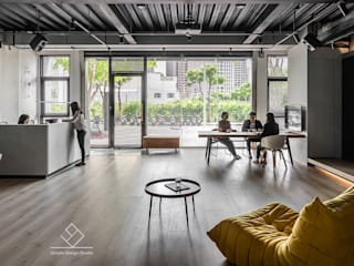 極簡辦公空間 Simple Design Working Space 極簡室內設計 Simple Design Studio 窗戶