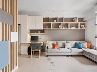 禾光室內裝修設計 ─ Her Guang Design 아시아스타일 거실