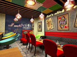 Design & Creations Asian style bars & clubs Plywood