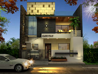 Design & Creations Modern walls & floors Bricks