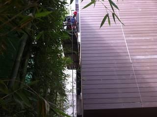 NATURA PISOS SA DE CV Terrace house Wood-Plastic Composite Red
