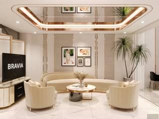 Ý tưởng thiết kế nội thất SPA tuyệt đẹp CÔNG TY CP THIẾT KẾ NỘI THẤT ICON Living roomSofas & armchairs