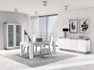 Intense mobiliário e interiores Comedores de estilo moderno