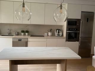 Muebles de Cocina Aries Built-in kitchens White