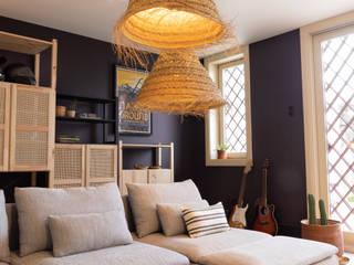 Tangerinas e Pêssegos - Design de Interiores & Decoração no Porto Eclectic style living room