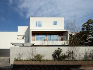 Outer Living House Atelier Square 木造住宅 白色
