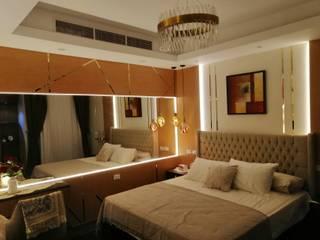 كاسل للإستشارات الهندسية وأعمال الديكور والتشطيبات العامة Small bedroom Wood Brown