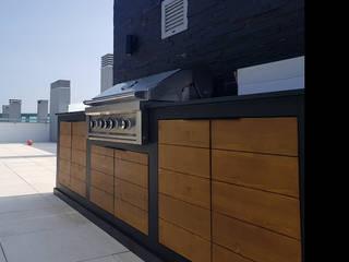 CRISTINA AFONSO, Design de Interiores, uNIP. Lda Kitchen units Black