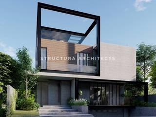 Structura Architects Single family home Stone Grey