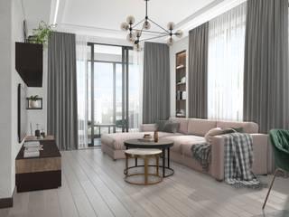Вира-АртСтрой Industrial style living room