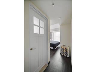 和色彩做朋友.彩色漸層之家 微自然室內裝修設計有限公司 臥室