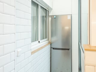 Grupo Inventia Built-in kitchens Aluminium/Zinc Metallic/Silver
