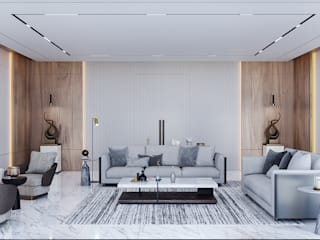 VERO CONCEPT MİMARLIK Salon moderne