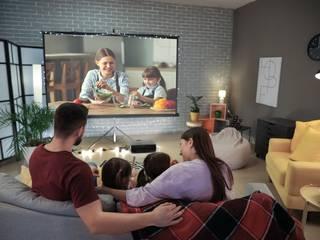 Leere Räume sinnvoll füllen: Die 7 besten Ideen Christine Bauer Moderner Multimedia-Raum