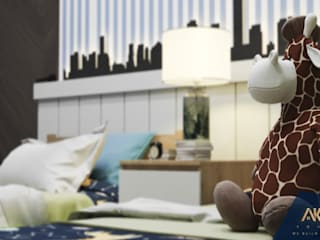 AKYAN SQUARE Boys Bedroom Wood-Plastic Composite Blue