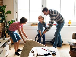 Perfekte Sauberkeit und Hygiene press profile homify Moderne Wohnzimmer