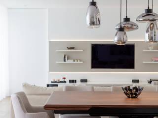 Atelier Susana Camelo Salones modernos Blanco