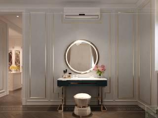 Thiết kế nội thất phong cách Tân Cổ Điển sang trọng CÔNG TY CP THIẾT KẾ NỘI THẤT ICON Dressing roomMirrors